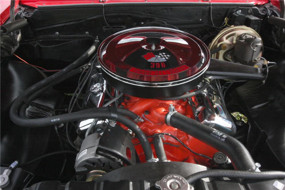 1967 CHEVROLET CHEVELLE SS 2 DOOR COUPE - Engine - 131053