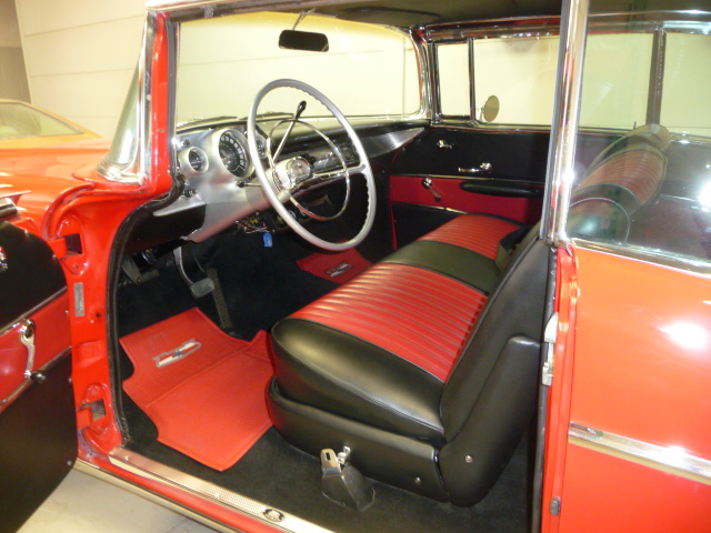 1957 CHEVROLET BEL AIR 2 DOOR COUPE - Interior - 131193