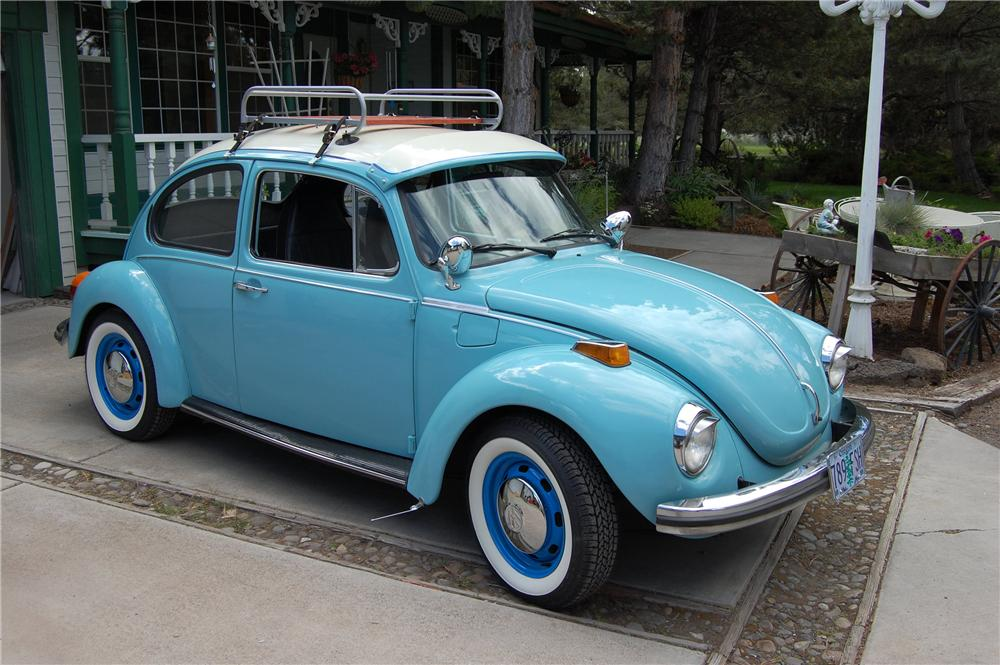 1973 VOLKSWAGEN BEETLE 2 DOOR COUPE - Side Profile - 131413