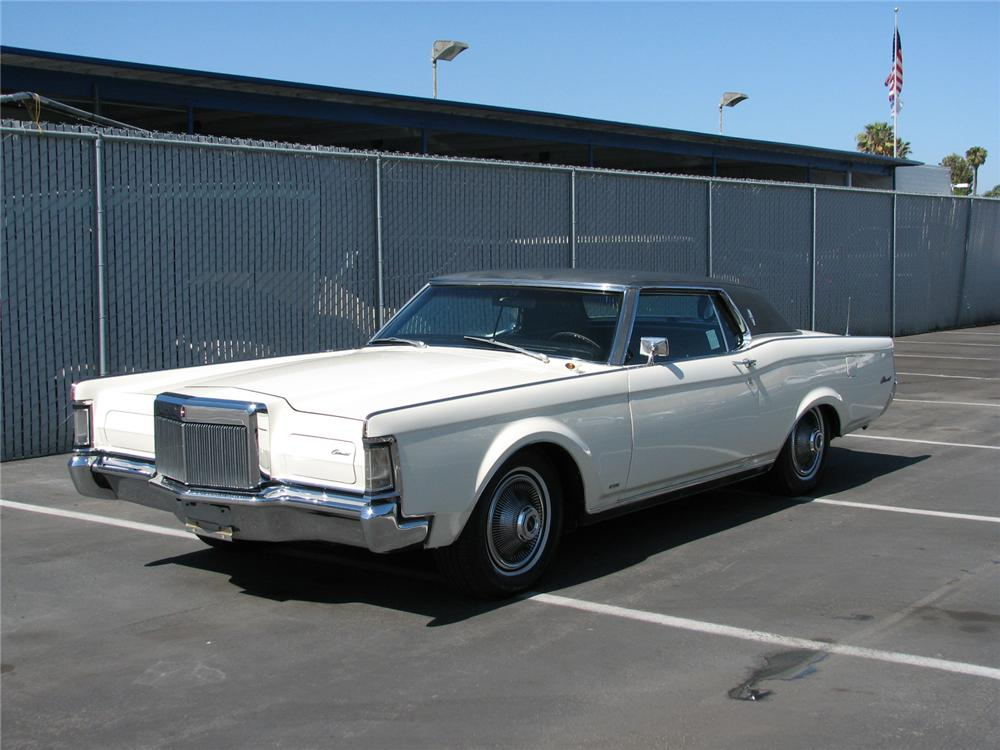 1969 LINCOLN CONTINENTAL MARK III 2 DOOR HARDTOP - Front 3/4 - 131493