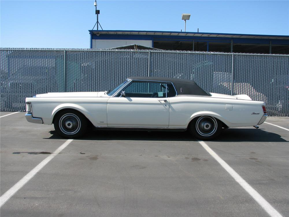 1969 LINCOLN CONTINENTAL MARK III 2 DOOR HARDTOP - Side Profile - 131493