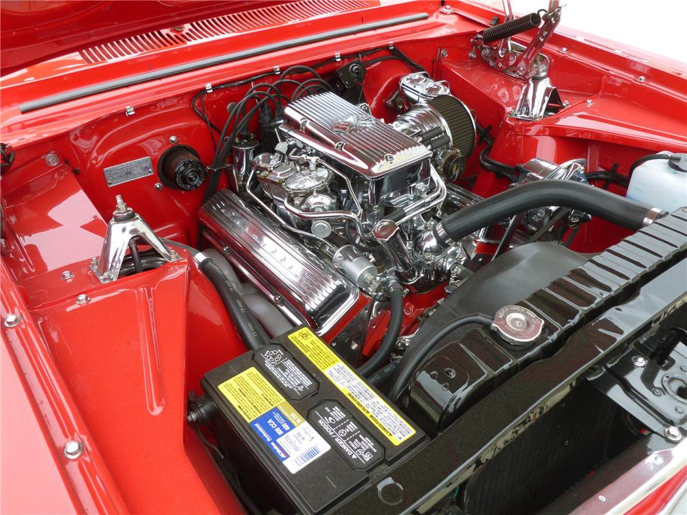 1963 CHEVROLET NOVA CUSTOM CONVERTIBLE - Engine - 132686