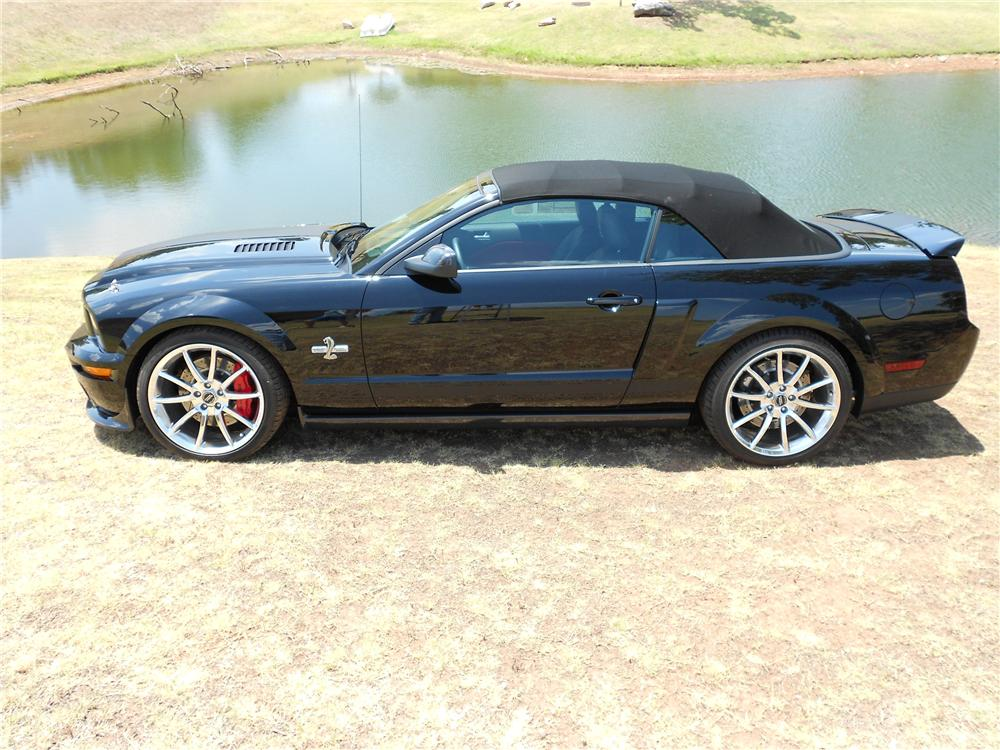2007 SHELBY GT500 SUPER SNAKE CONVERTIBLE - Side Profile - 132688