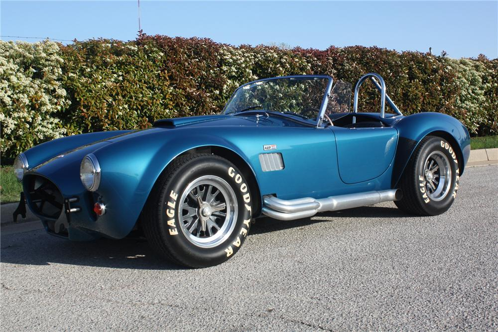 1965 SHELBY COBRA CSX 6000 ROADSTER - Front 3/4 - 132694