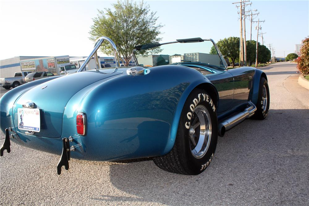 1965 SHELBY COBRA CSX 6000 ROADSTER - Rear 3/4 - 132694