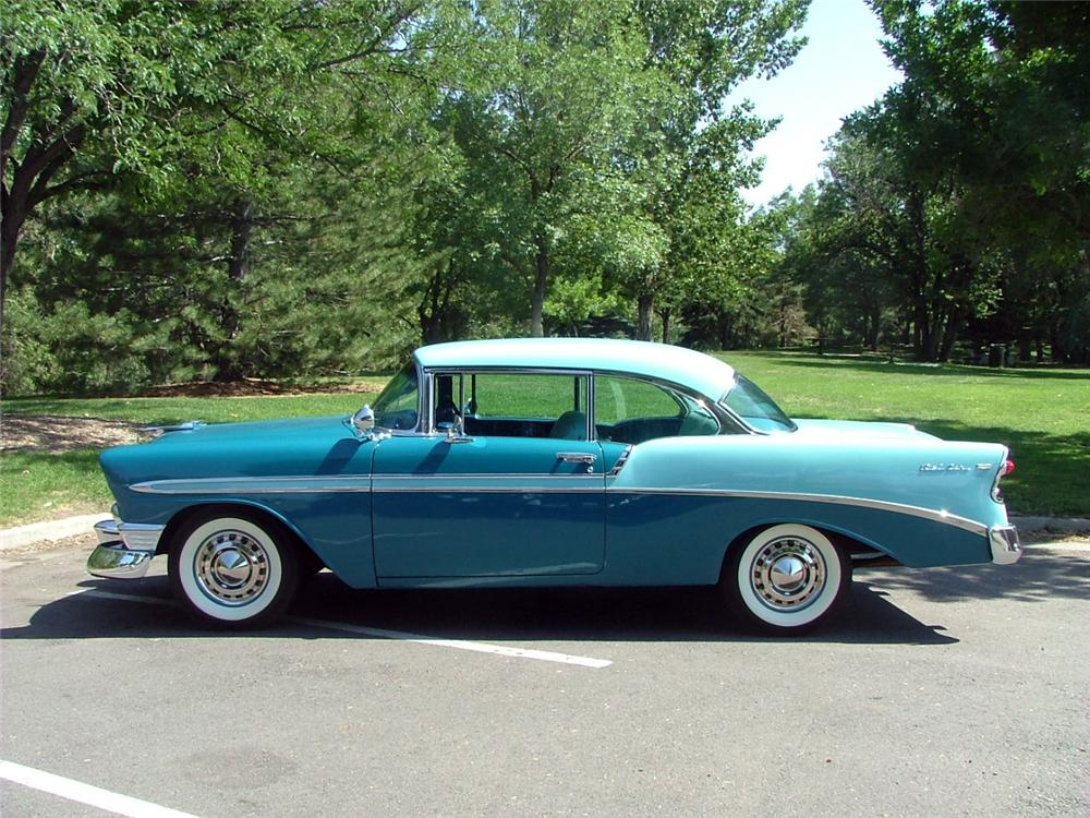 1956 chevrolet bel air 2 door hardtop 132699