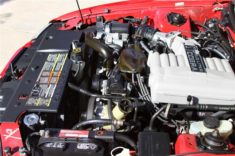 1994 FORD MUSTANG COBRA PACE CAR CONVERTIBLE - Engine - 132703