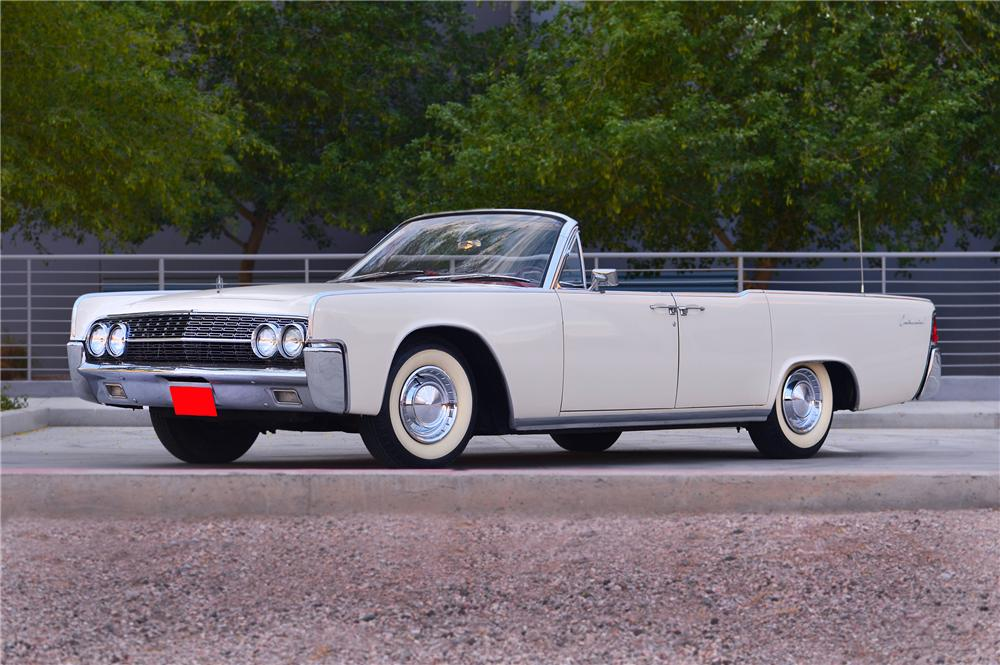 1962 Lincoln Continental Convertible 132706