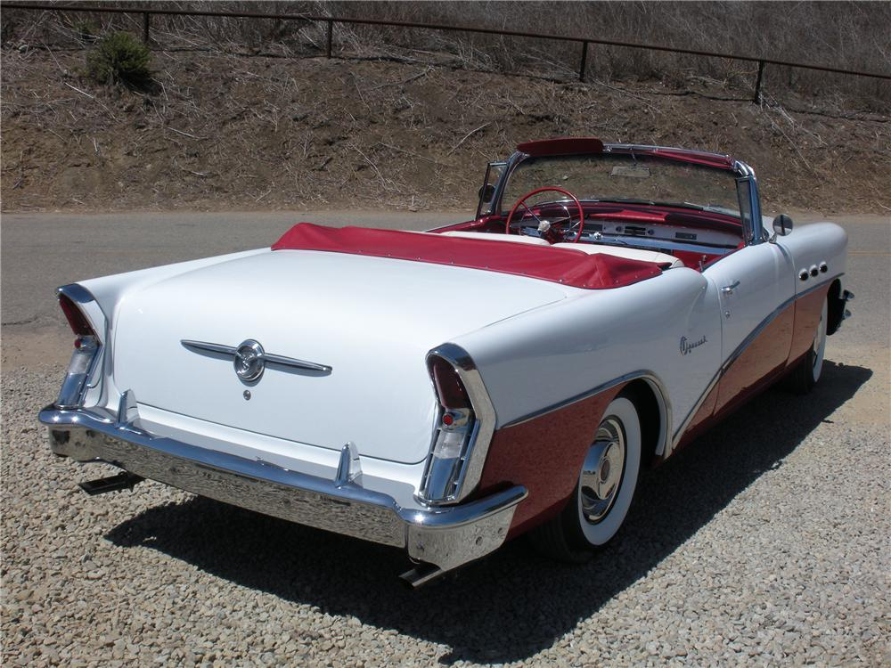 1956 BUICK SPECIAL CONVERTIBLE - Rear 3/4 - 132739