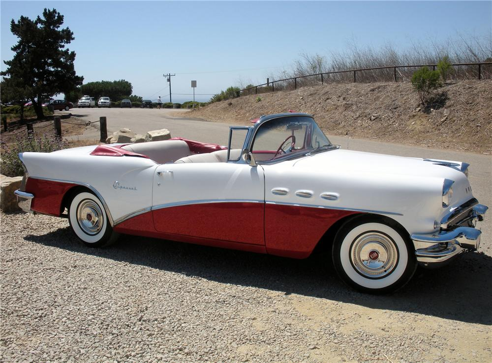 1956 BUICK SPECIAL CONVERTIBLE - Side Profile - 132739