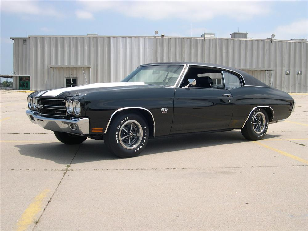 1970 CHEVROLET CHEVELLE SS LS6 RE-CREATION 2 DOOR COUPE - Front 3/4 - 132762