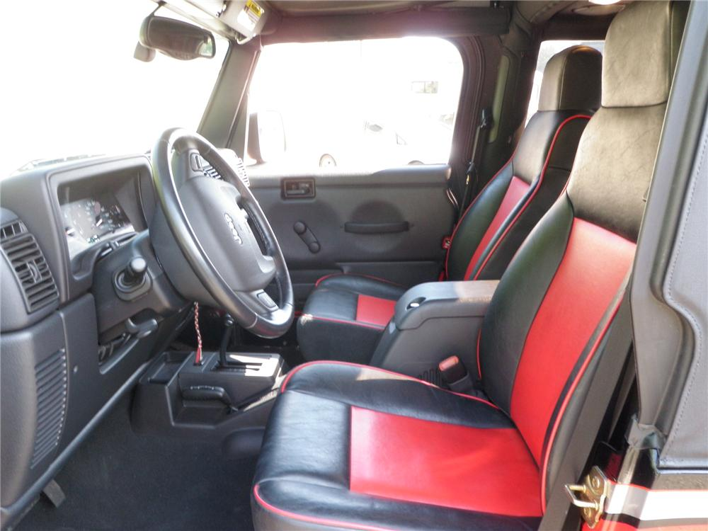 2006 JEEP WRANGLER CUSTOM SUV - Interior - 132777