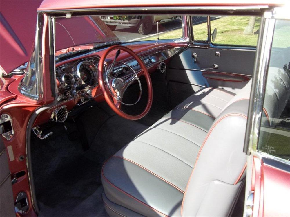 1957 CHEVROLET BEL AIR 2 DOOR HARDTOP - Interior - 132794
