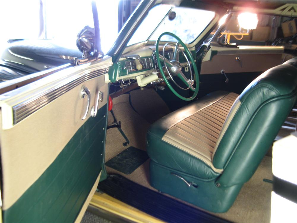 1948 CHRYSLER TOWN & COUNTRY CONVERTIBLE - Interior - 132795