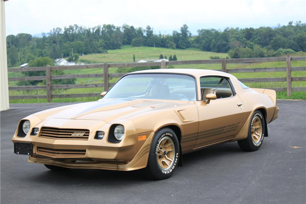 1981 CHEVROLET CAMARO Z/28 2 DOOR COUPE - Front 3/4 - 132800