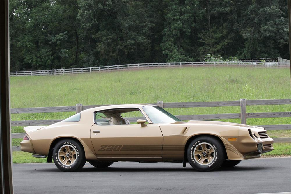 1981 CHEVROLET CAMARO Z/28 2 DOOR COUPE - Side Profile - 132800