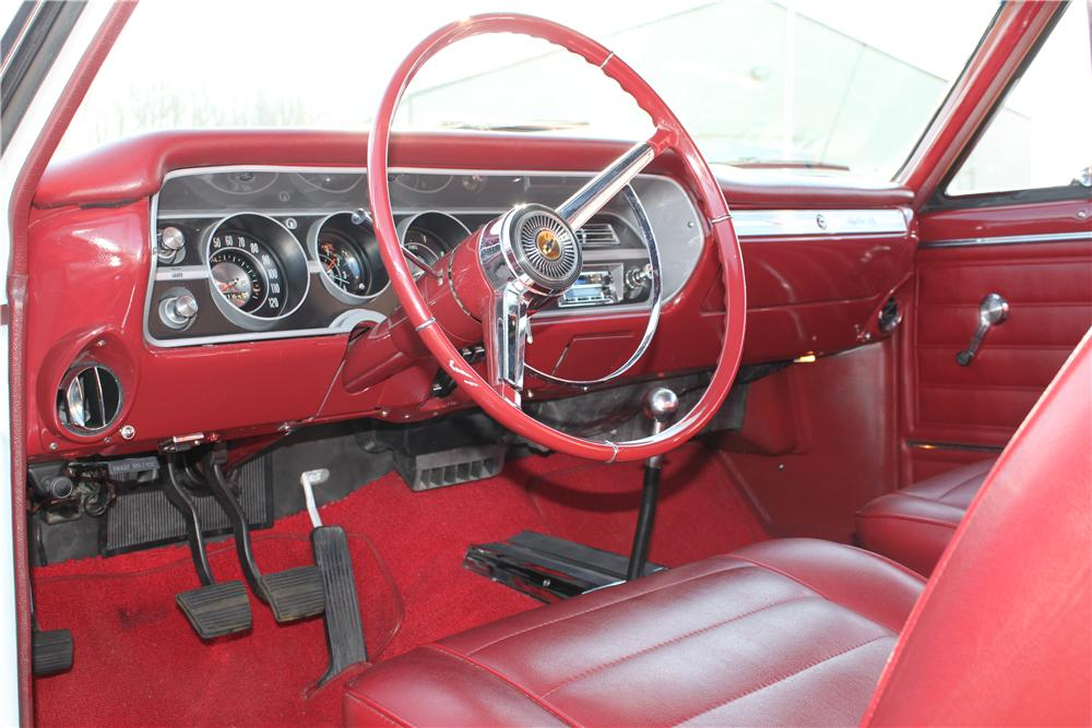 1965 CHEVROLET MALIBU SS CONVERTIBLE - Interior - 132801