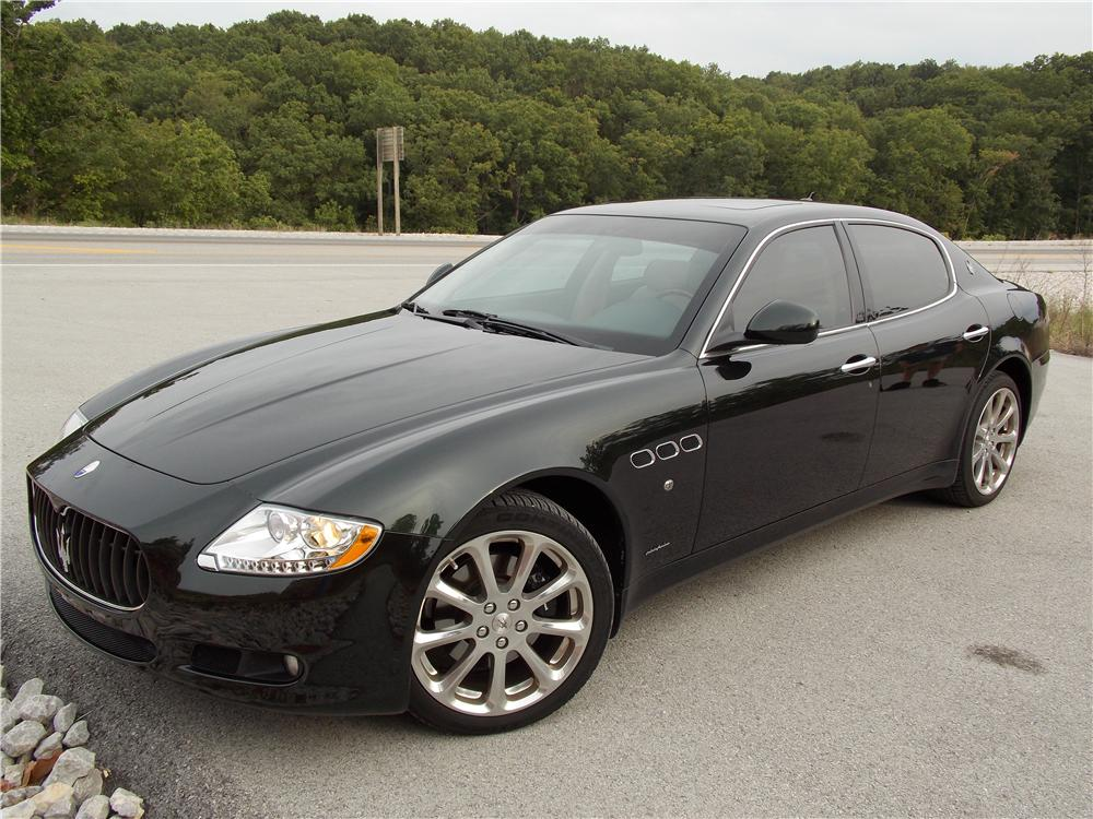 2009 maserati quattro porte 4 door sedan 132803. Black Bedroom Furniture Sets. Home Design Ideas