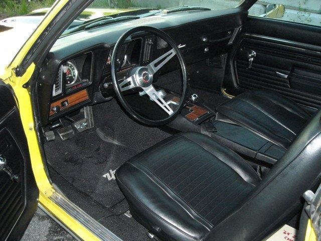 1969 CHEVROLET CAMARO Z/28 2 DOOR COUPE - Interior - 132809