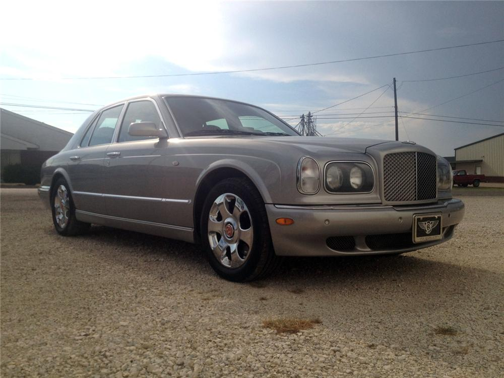 2000 bentley arnage red label turbo 4 door sedan 132813. Black Bedroom Furniture Sets. Home Design Ideas