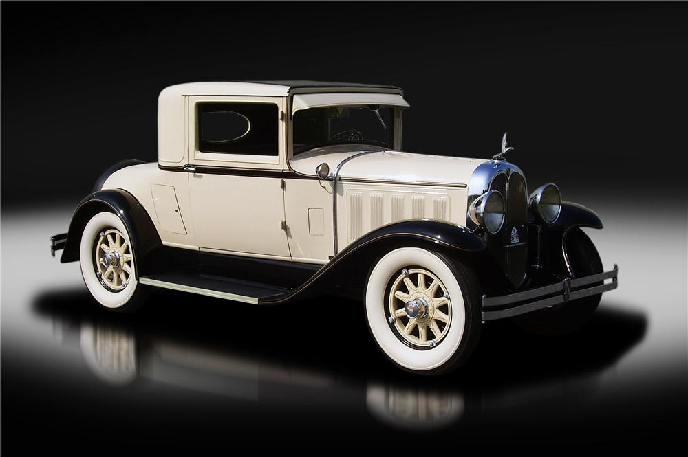 1929 OAKLAND ALL AMERICAN SIX 2 DOOR COUPE - Front 3/4 - 132824