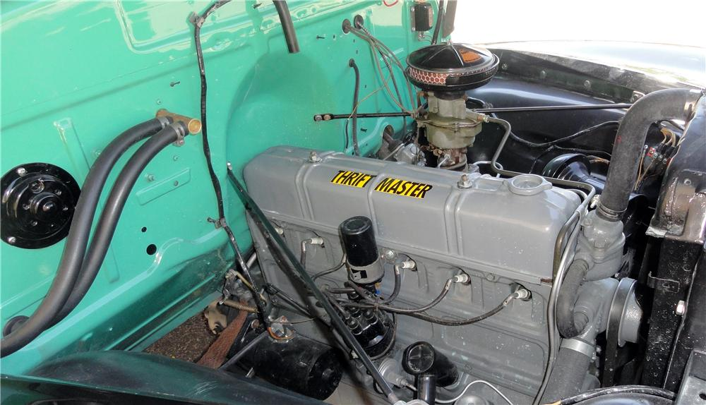 1951 CHEVROLET PANEL TRUCK  - Engine - 132828