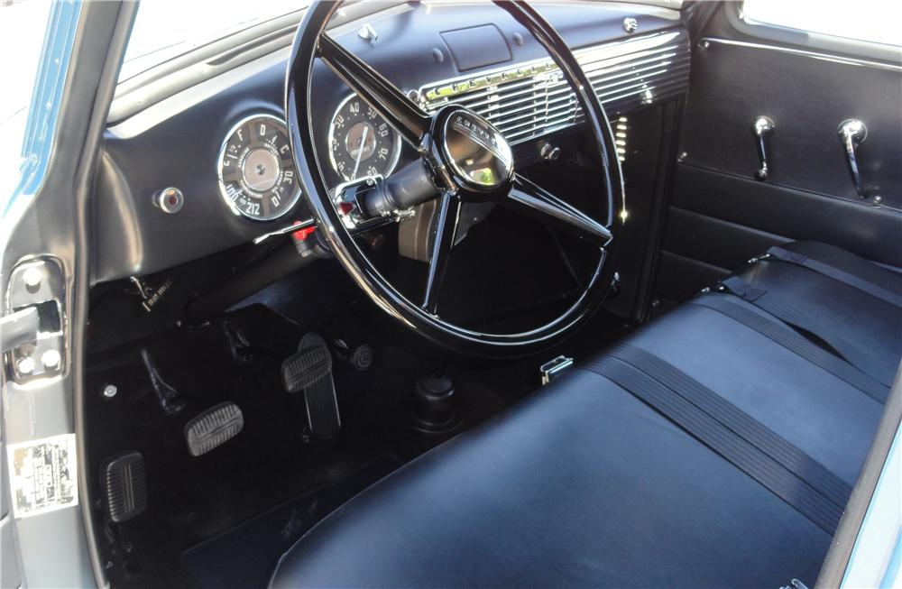 1949 CHEVROLET 3100 PICKUP - Interior - 132831