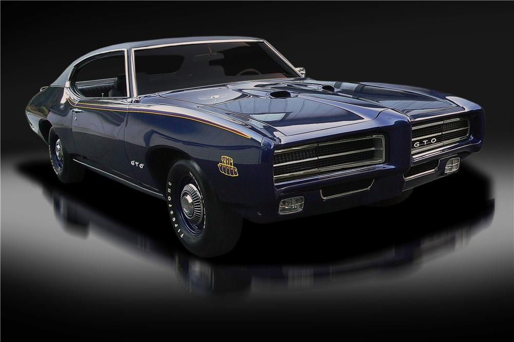 1969 PONTIAC GTO JUDGE 2 DOOR COUPE - Front 3/4 - 132834