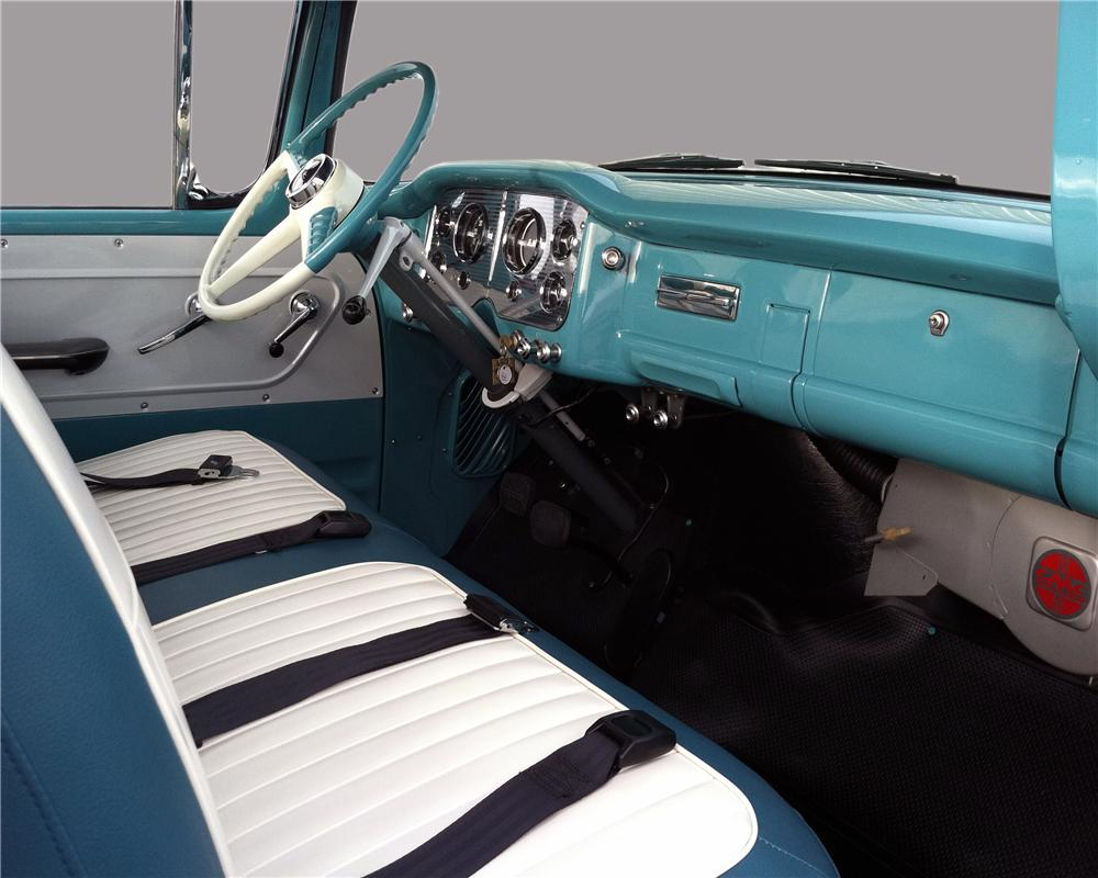 1956 GMC 100 PICKUP - Interior - 132836