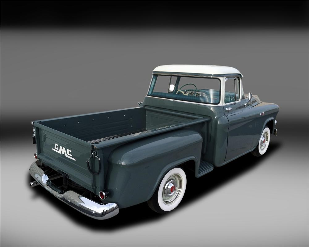 1956 GMC 100 PICKUP - Rear 3/4 - 132836