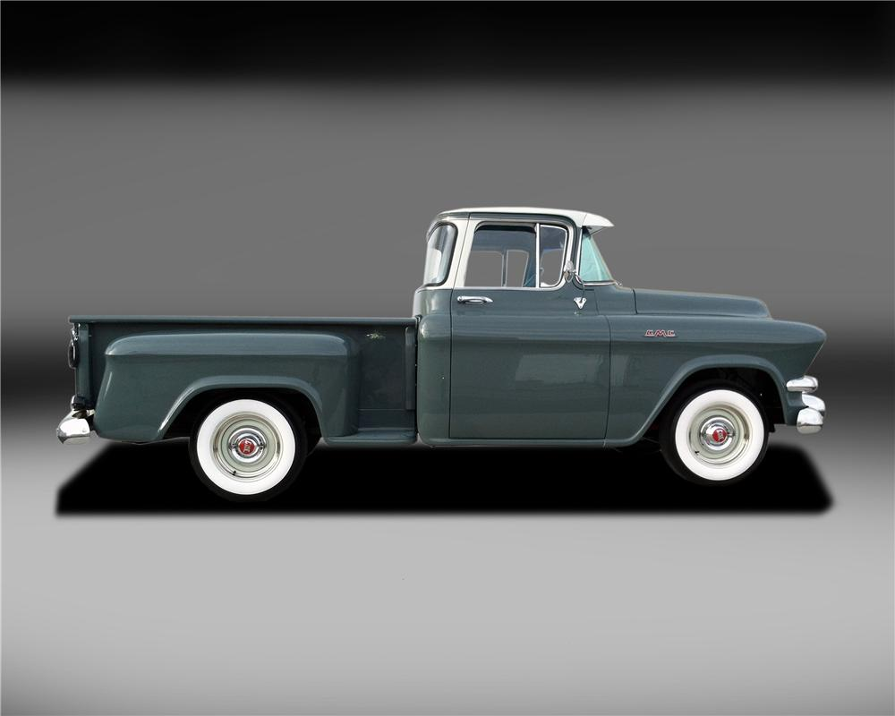 1956 GMC 100 PICKUP - Side Profile - 132836