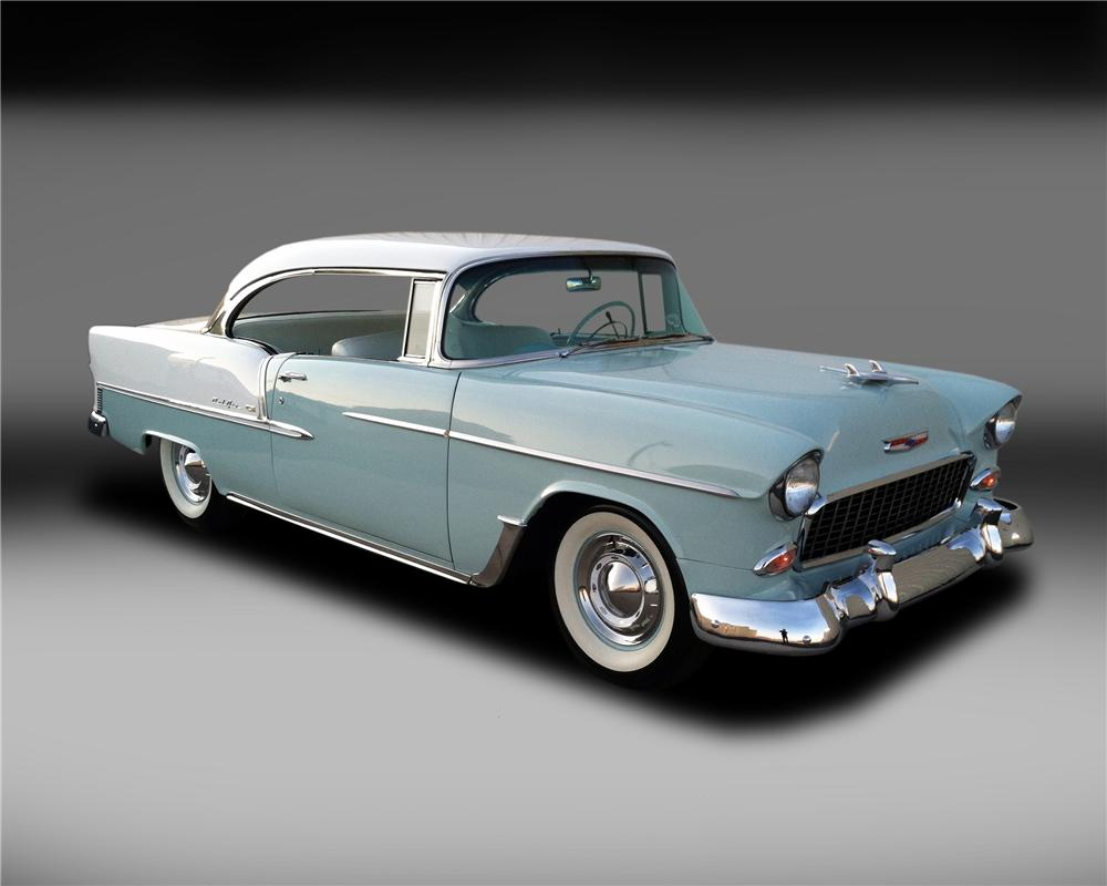 Bel Air Car >> 1955 CHEVROLET BEL AIR 2 DOOR HARDTOP - 132837