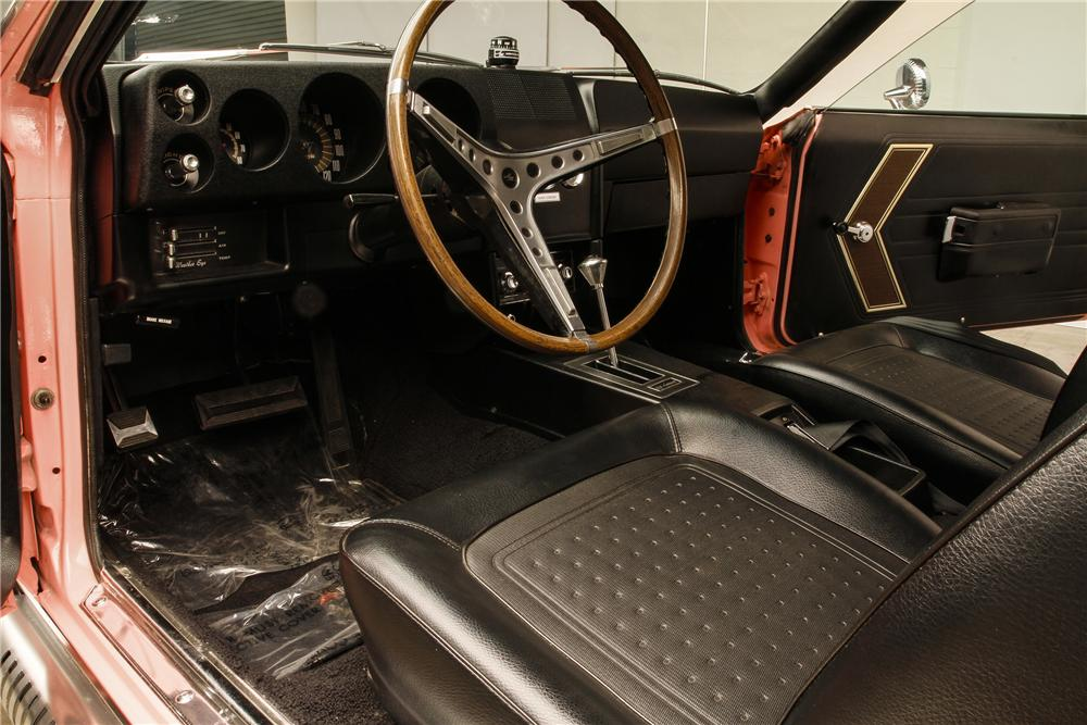 1968 AMERICAN MOTORS AMX CUSTOM 2 DOOR COUPE - Interior - 132853
