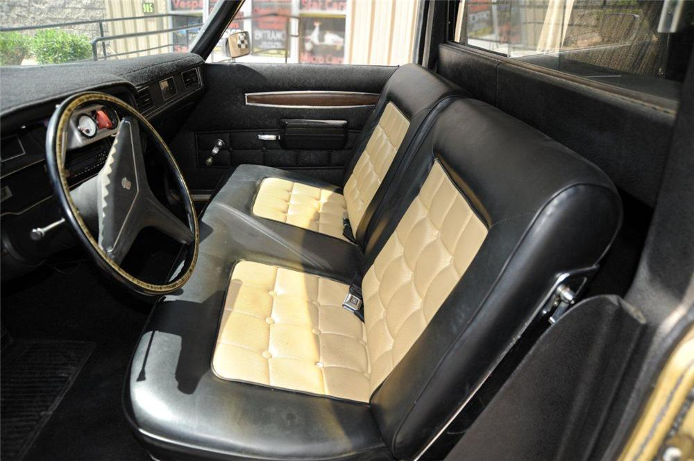 1971 CADILLAC CUSTOM HEARSE - Interior - 132854