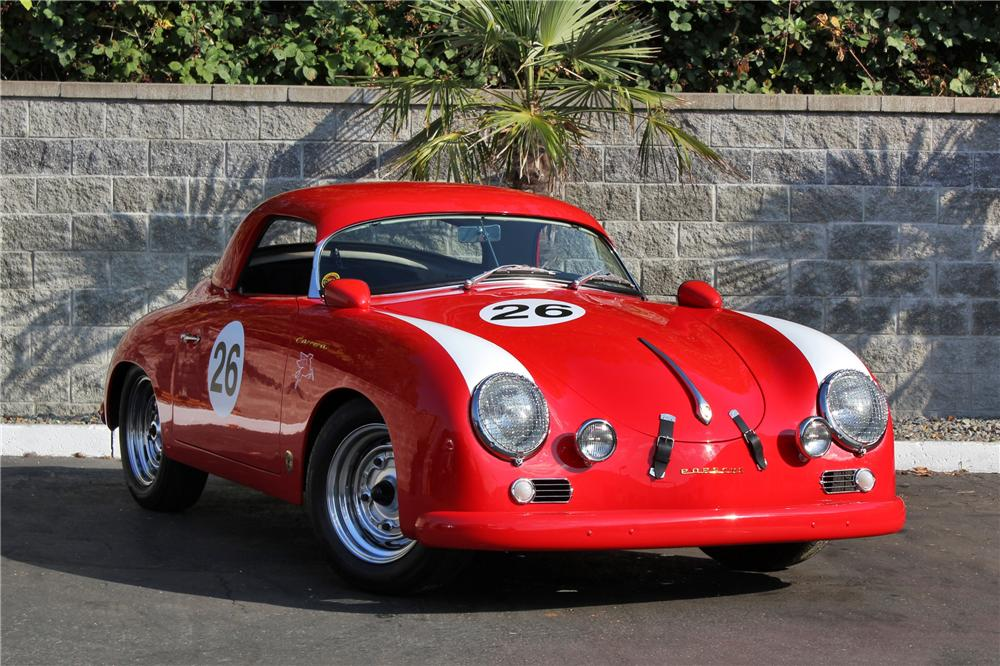 1957 PORSCHE 356 SPEEDSTER RE-CREATION - Front 3/4 - 132858