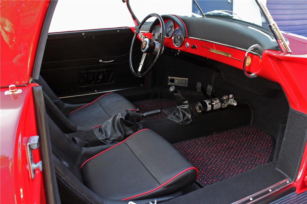 1957 PORSCHE 356 SPEEDSTER RE-CREATION - Interior - 132858