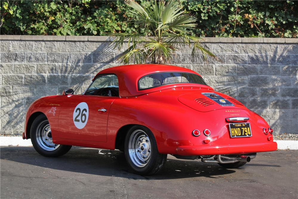 1957 PORSCHE 356 SPEEDSTER RE-CREATION - Rear 3/4 - 132858