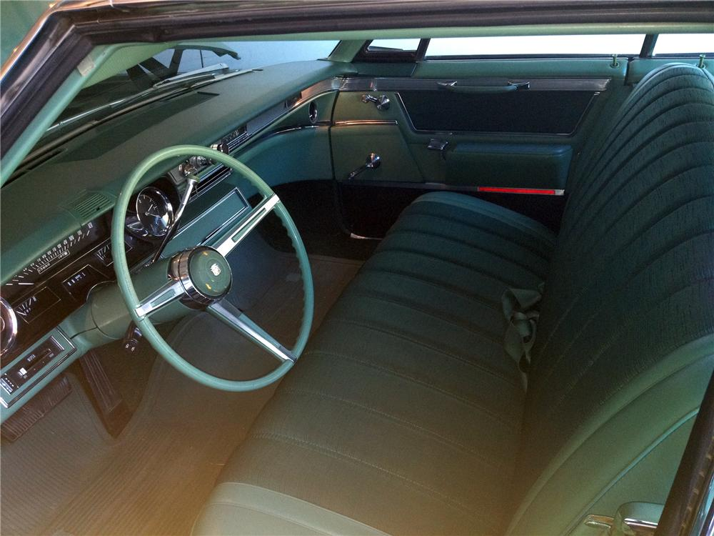 1966 CADILLAC CALAIS 4 DOOR SEDAN - Interior - 132860