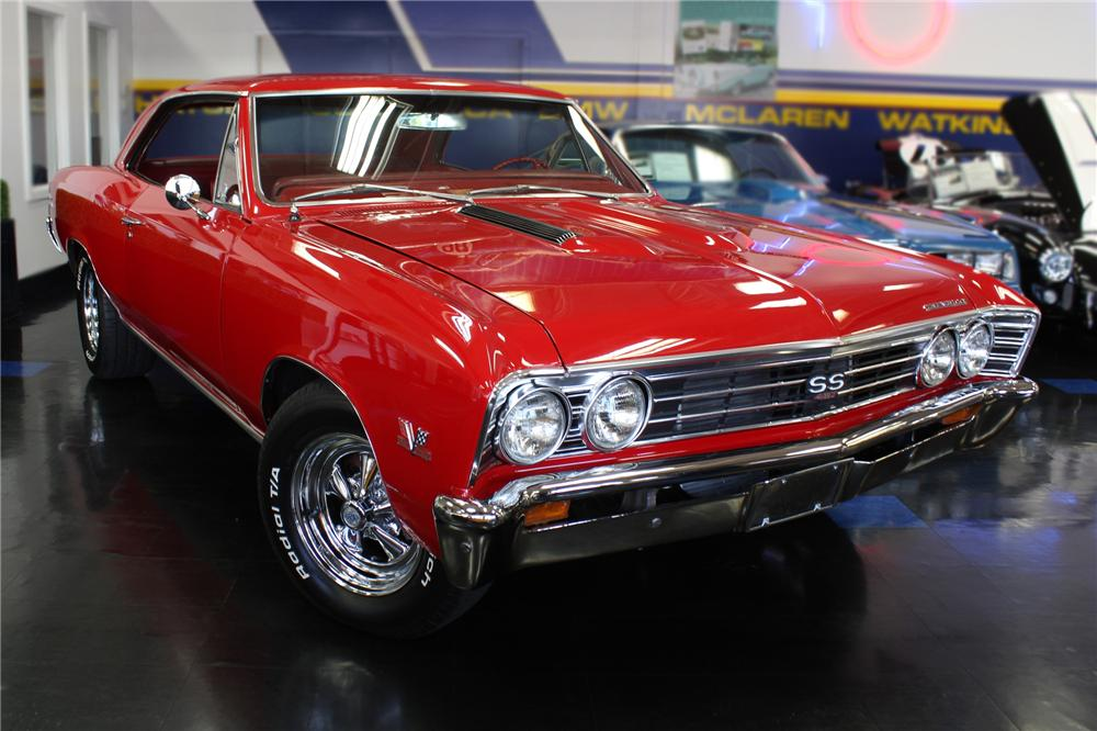 1967 CHEVROLET CHEVELLE SS CUSTOM 2 DOOR COUPE
