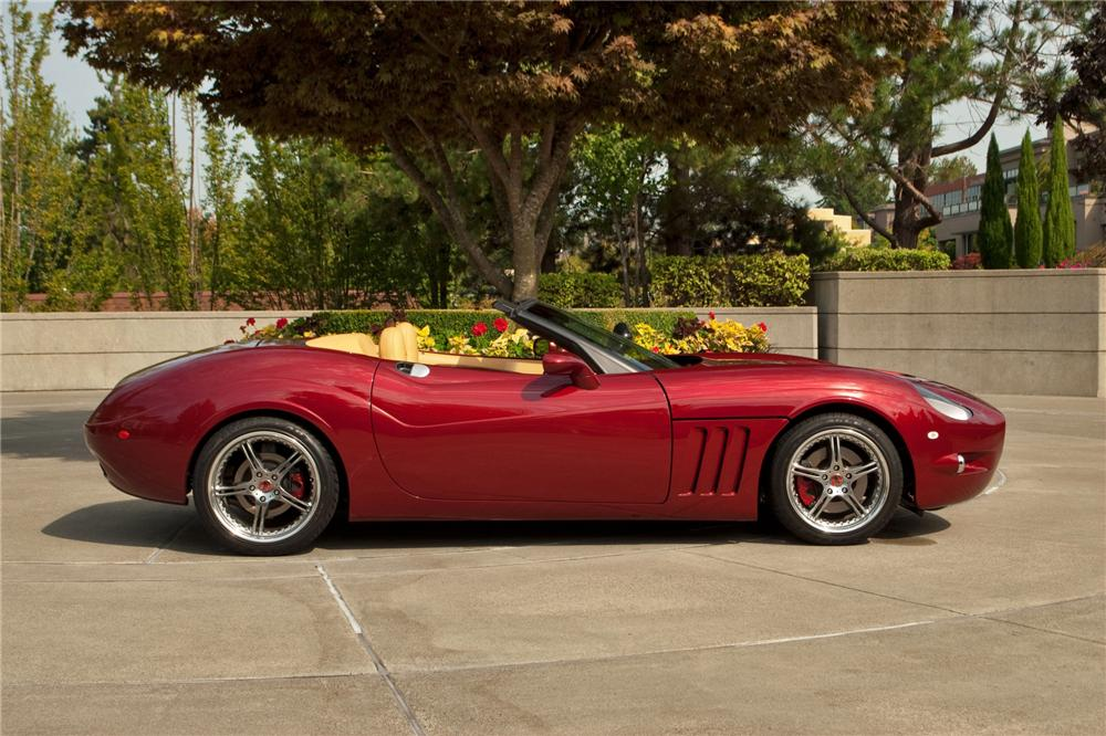 2005 chevrolet corvette custom anteros roadster 132865. Black Bedroom Furniture Sets. Home Design Ideas