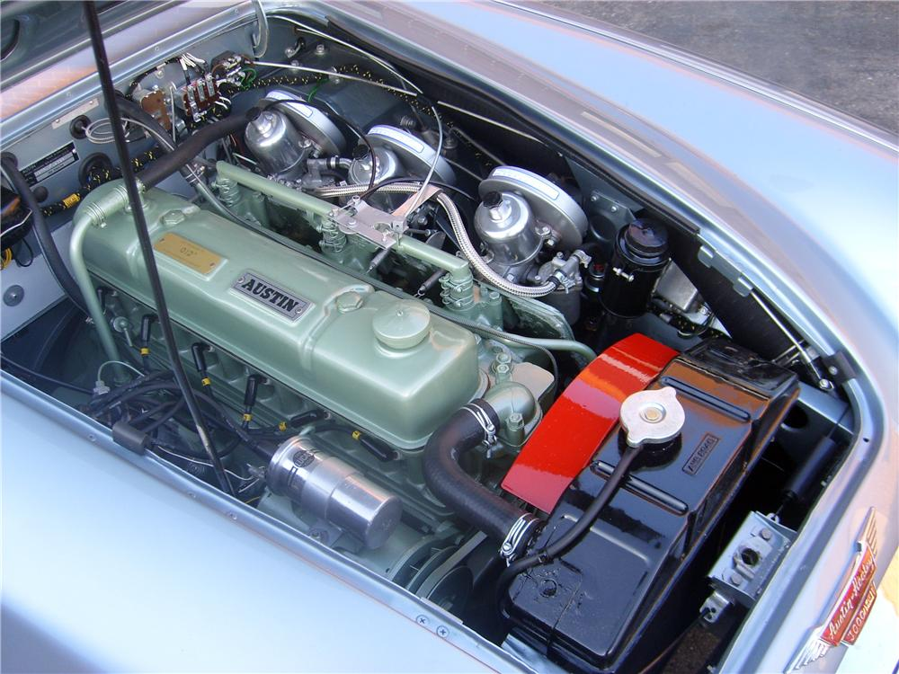 1962 AUSTIN-HEALEY 3000 MARK II BT7 ROADSTER - Engine - 132866