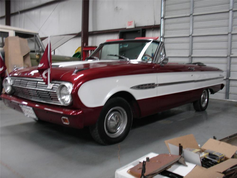 1963 FORD FALCON FUTURA CONVERTIBLE - Side Profile - 132867