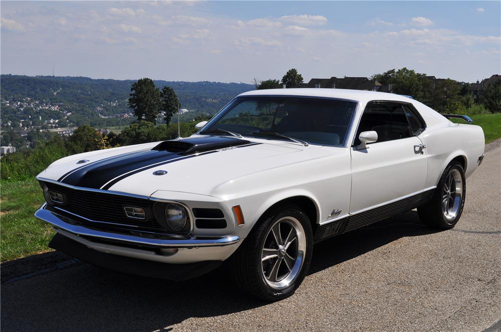 1970 Ford Mustang Mach 1 2 Door Coupe