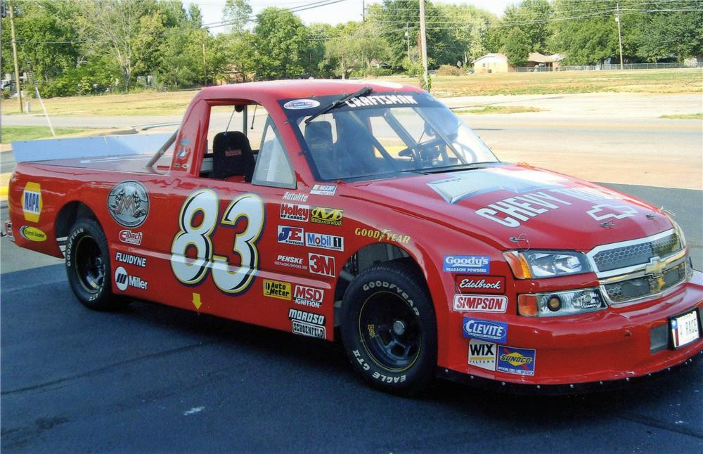 1996 CHEVROLET S-10 NASCAR PICKUP - Side Profile - 132883