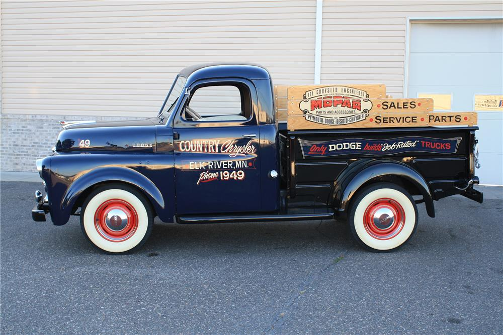 1949 DODGE PICKUP - Side Profile - 132886