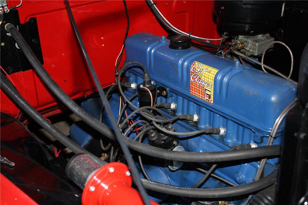 1953 FORD F-100 PICKUP - Engine - 132887