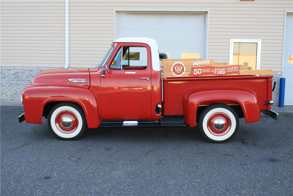 1953 FORD F-100 PICKUP - Side Profile - 132887