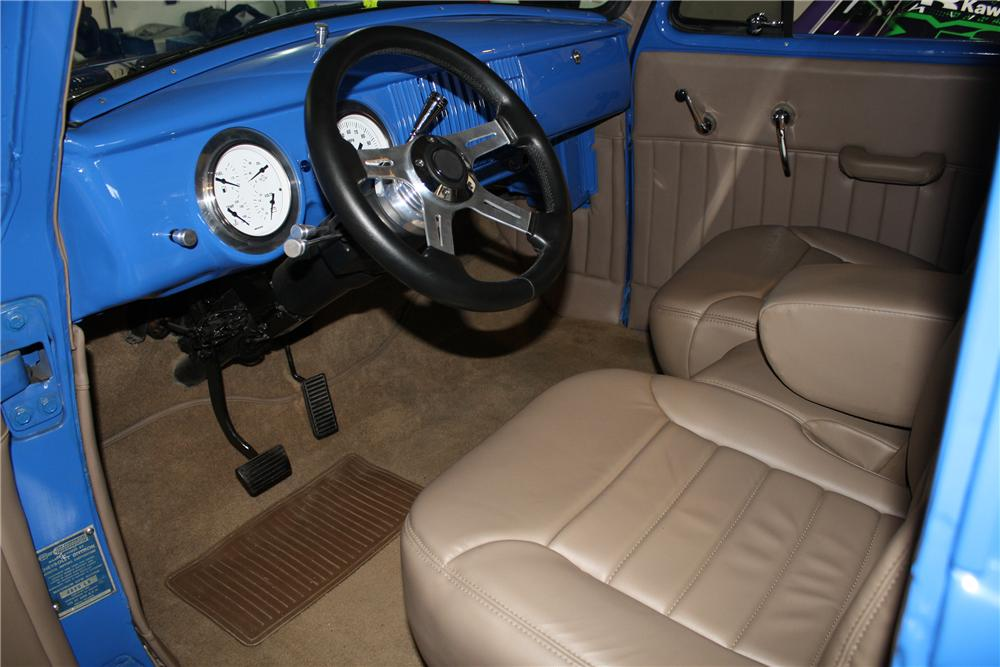 1955 CHEVROLET 3100 CUSTOM PICKUP - Interior - 132889