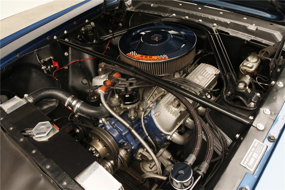 1966 SHELBY GT350 FASTBACK - Engine - 132892