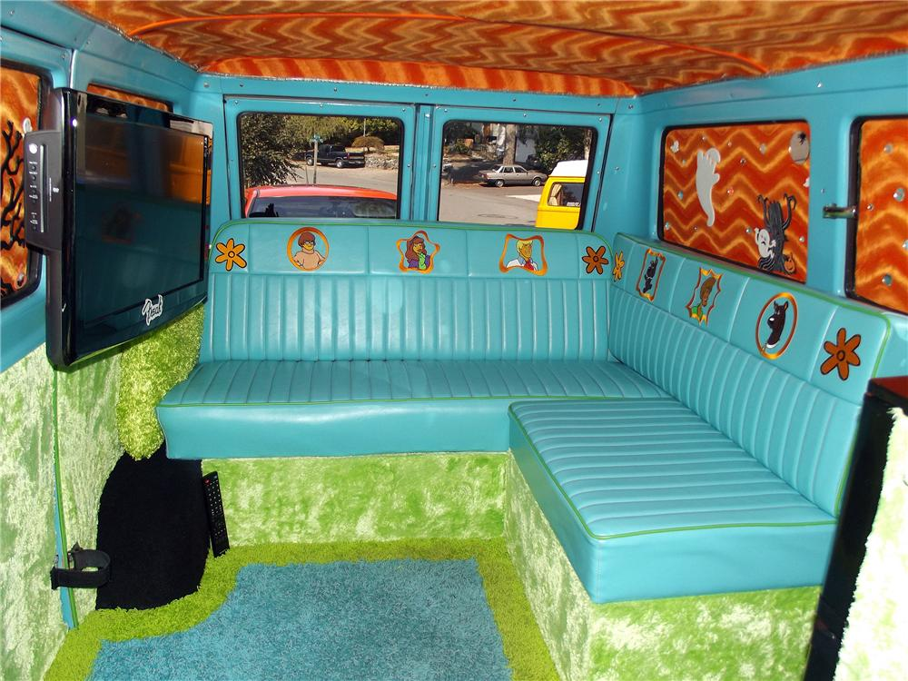 Amazing ... 1965 FORD ECONOLINE CUSTOM VAN   Interior   132900 ...